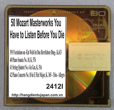 2412I. Wolfgang Amadeus Mozart - 50 Mozart Masterworks You Have to Listen Before You Die (Golden Deer Classics)