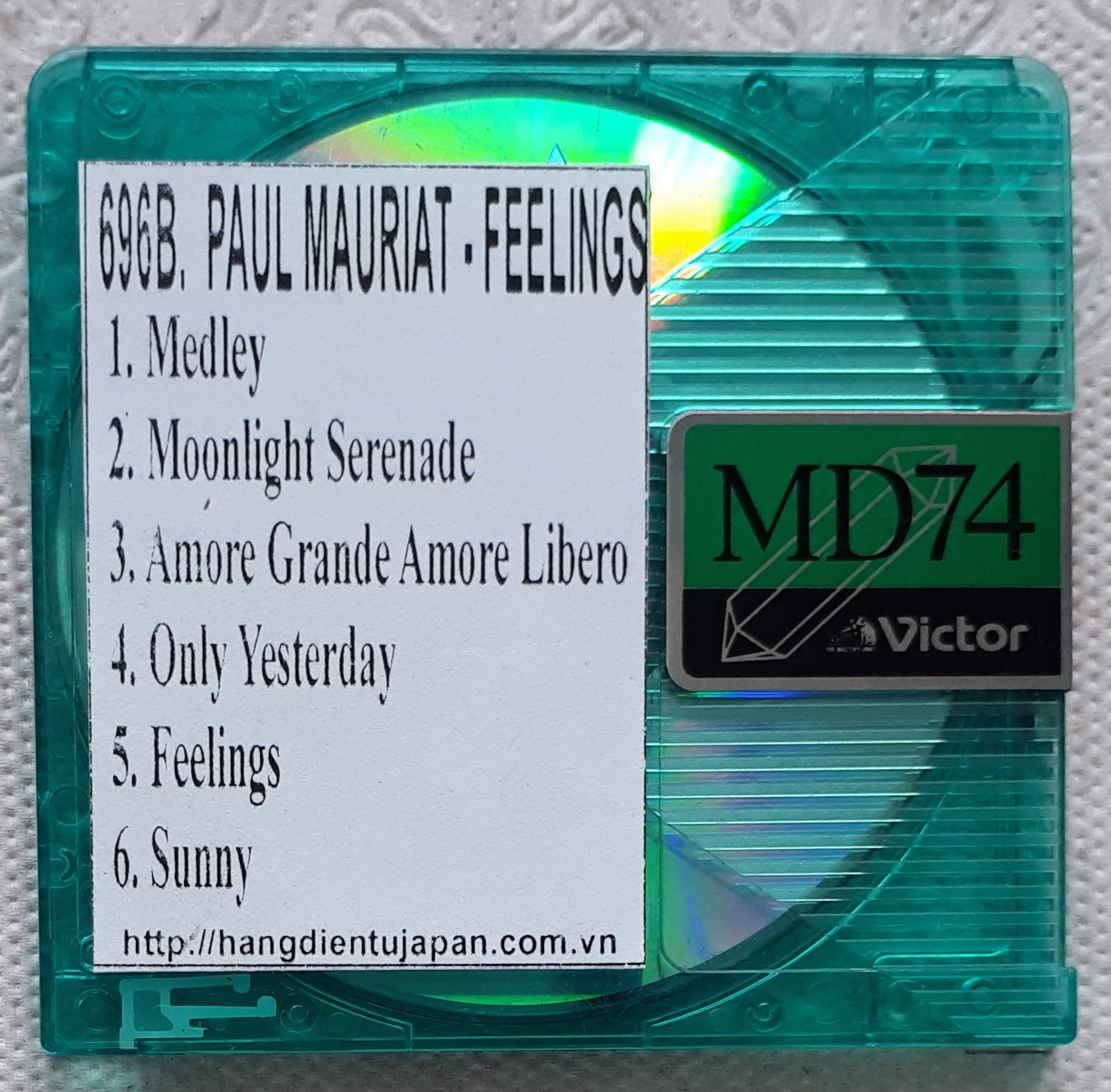 696B -ALBUM PAUL MAURIAT DISK 2 - FEELINGS