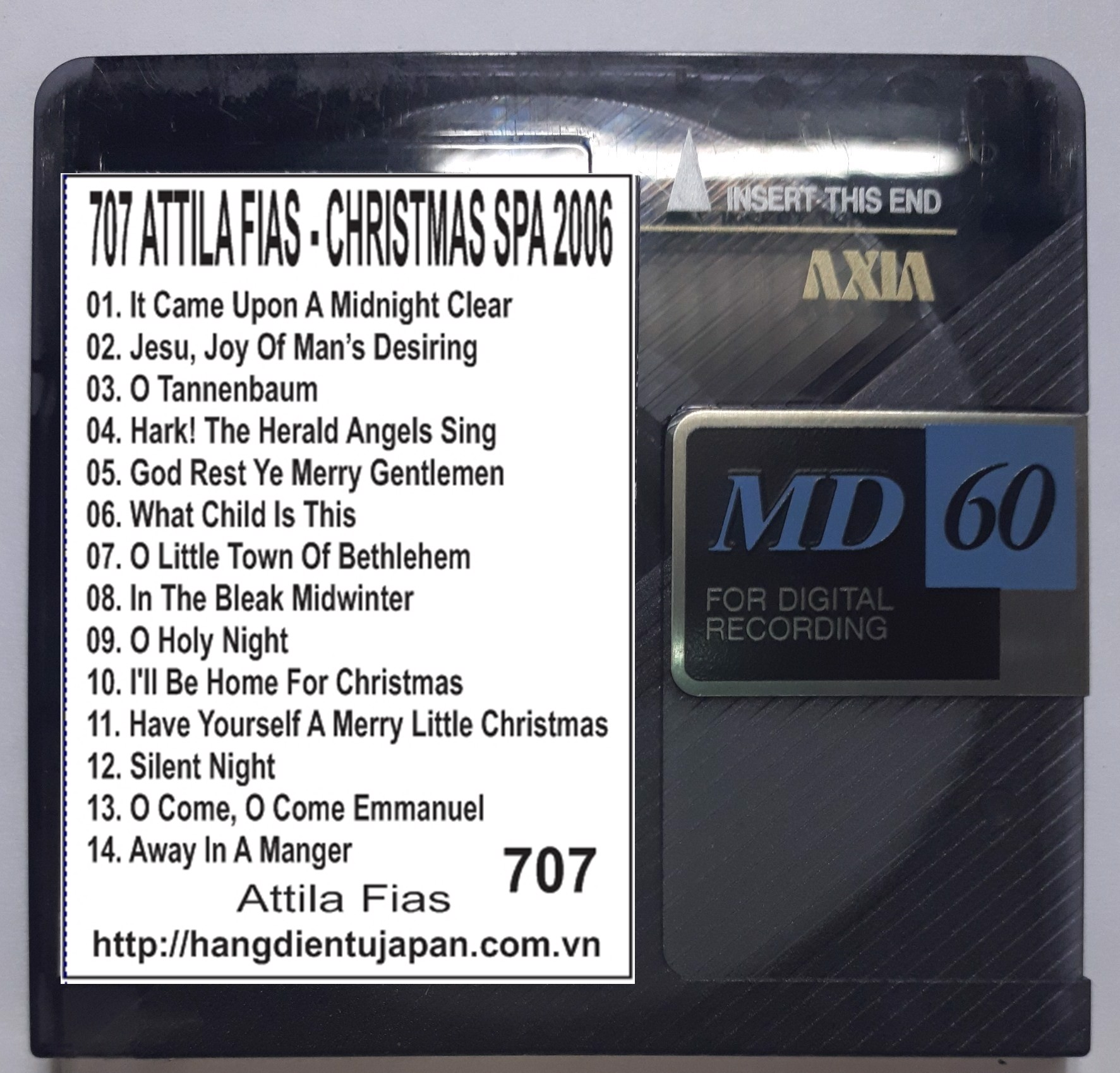 707 ATTILA FIAS - CHRISTMAS SPA (2006)