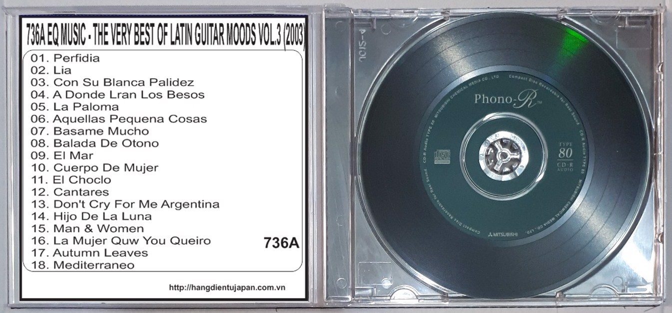 736A EQ MUSIC - THE VERY BEST OF LATIN GUITAR MOODS VOL.3 (2003)