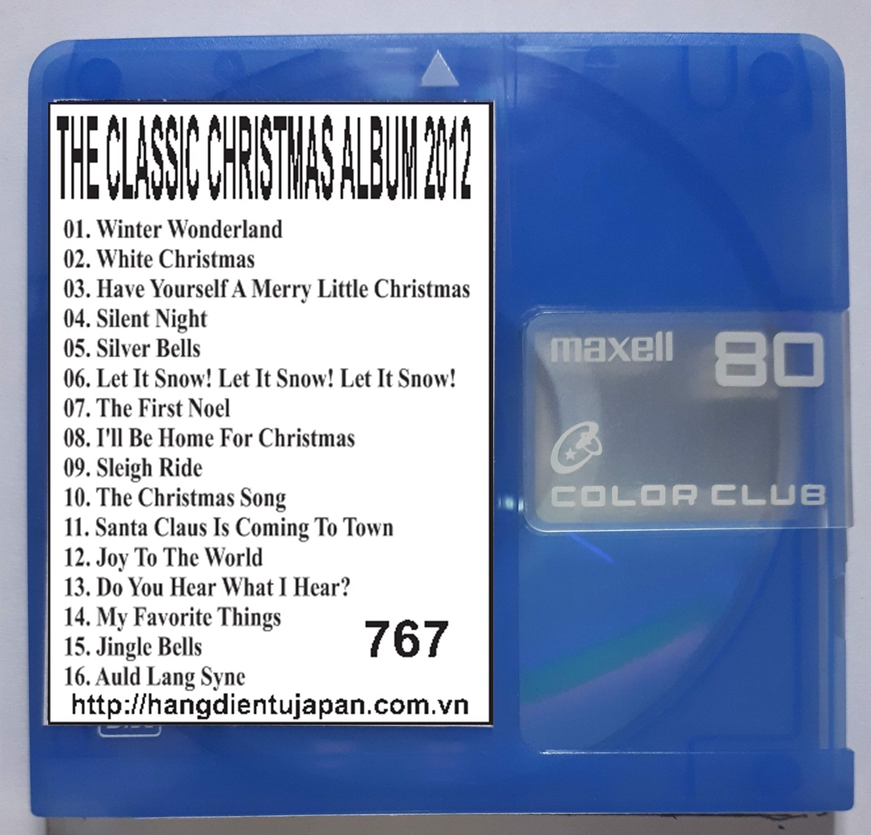 767 KENNY G - THE CLASSIC CHRISTMAS ALBUM 2012