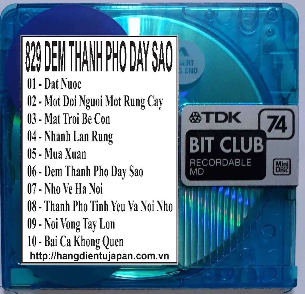 829 QUANG DUNG - DEM THANH PHO DAY SAO (2004)