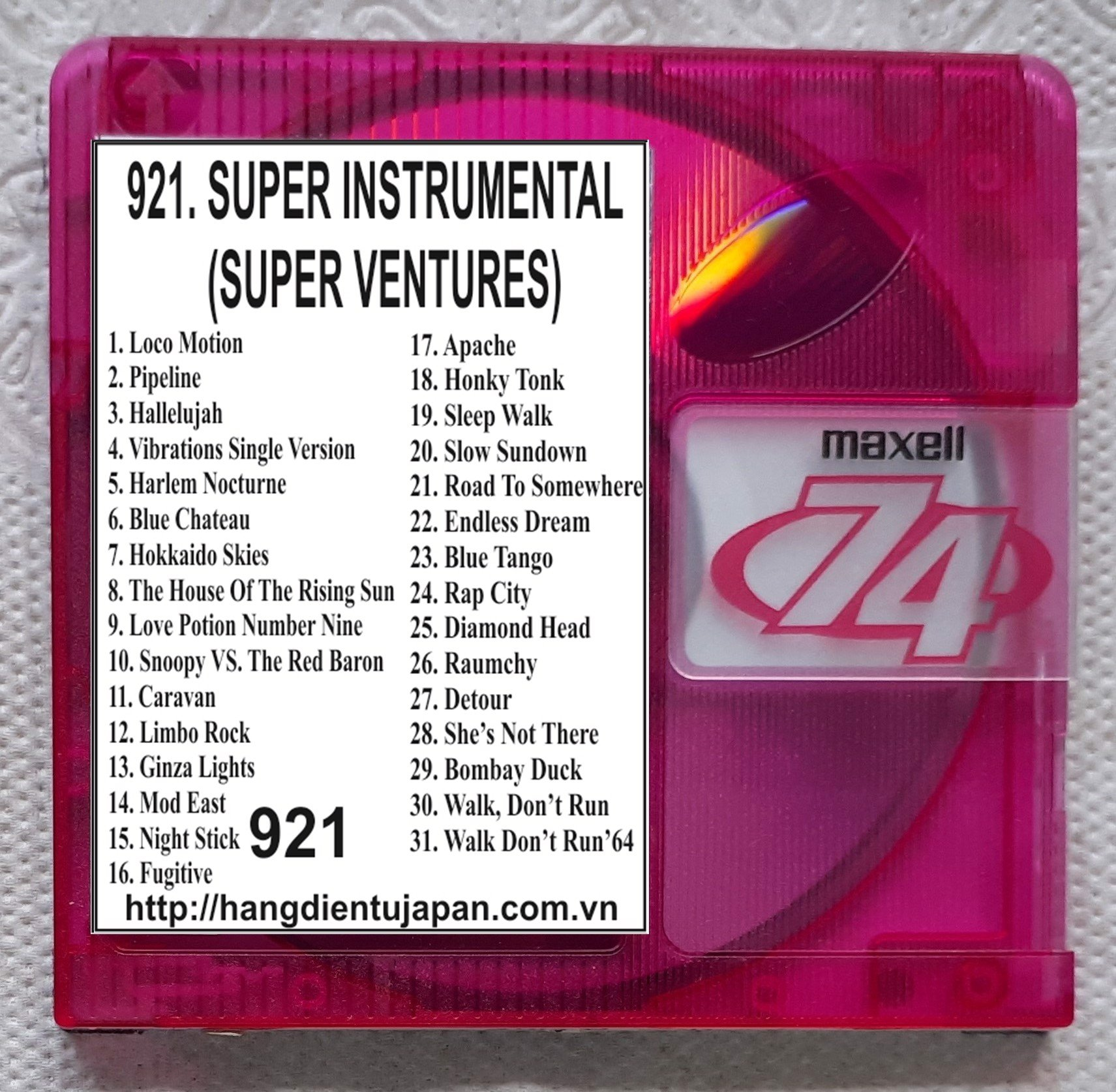 921 VOL 24_SUPER INSTRUMENTAL (SUPER VENTURES)