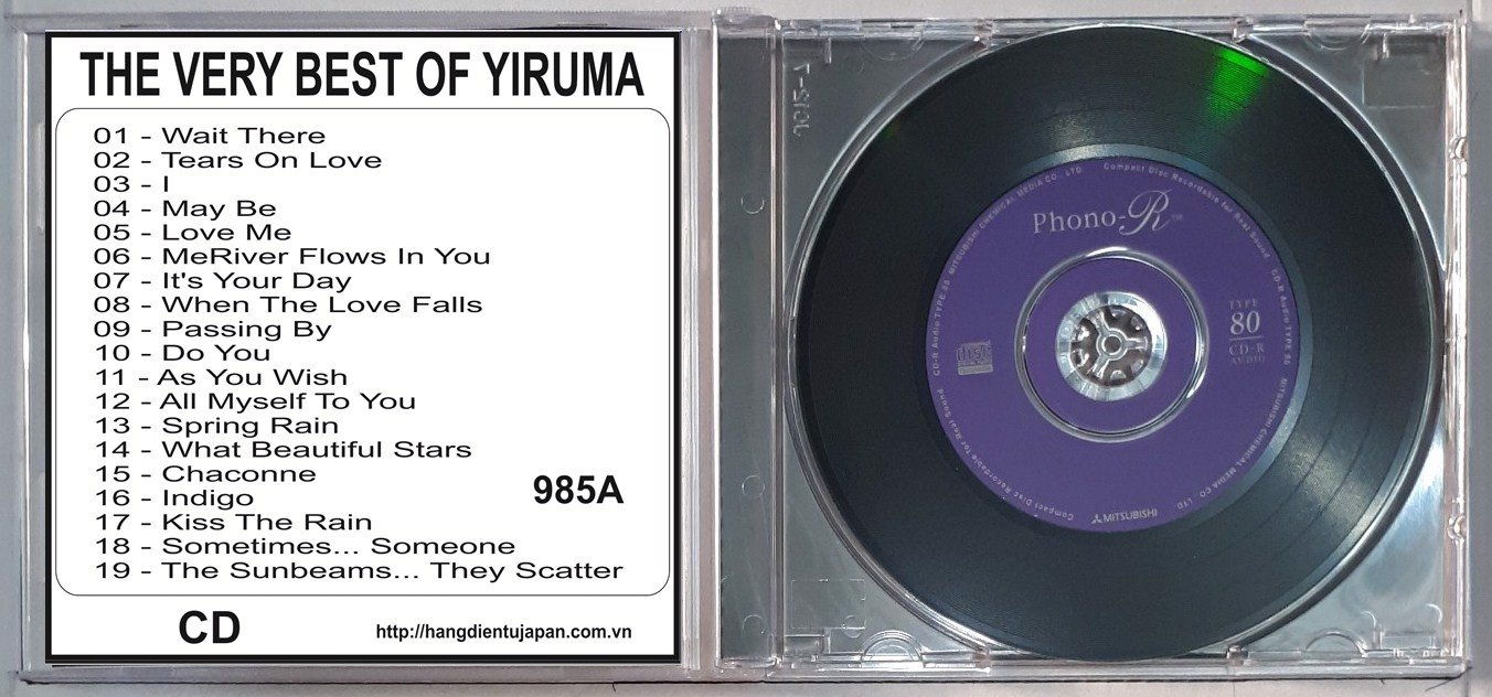 985A YIRUMA - THE VERY BEST OF YIRUMA-YIRUMA PIANO (2011)