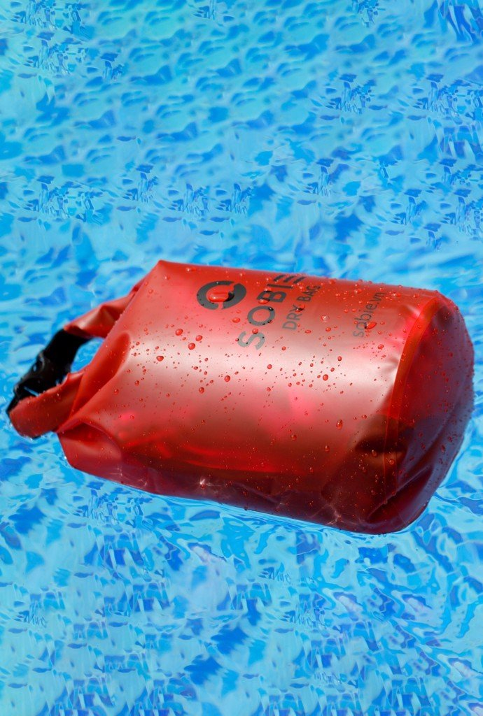 Sobie accessory drybag transparent red 5L