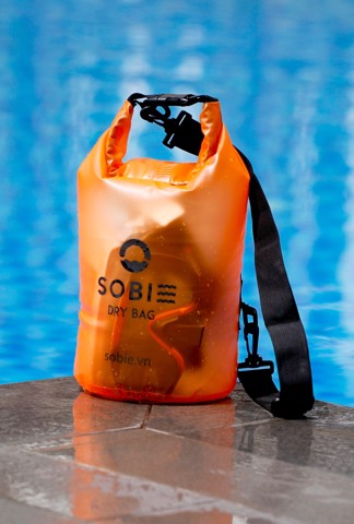Sobie accessory drybag transparent orange 5L