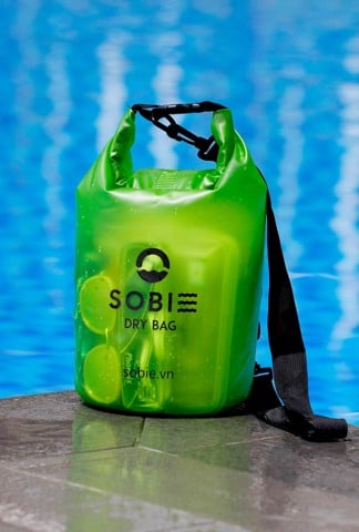 Sobie accessory drybag transparent green 5L