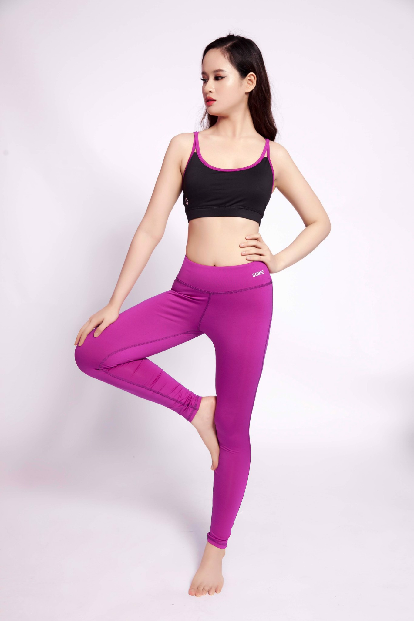 SB Sports Legging Basic Pink