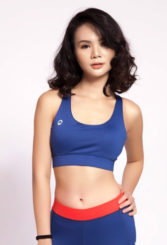 SB Sports Bra Top Basic Violet