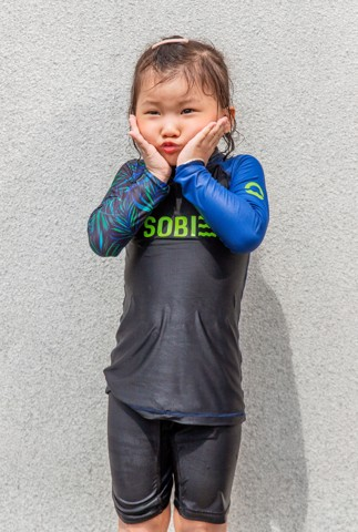 Night Trop KID Rashguard set