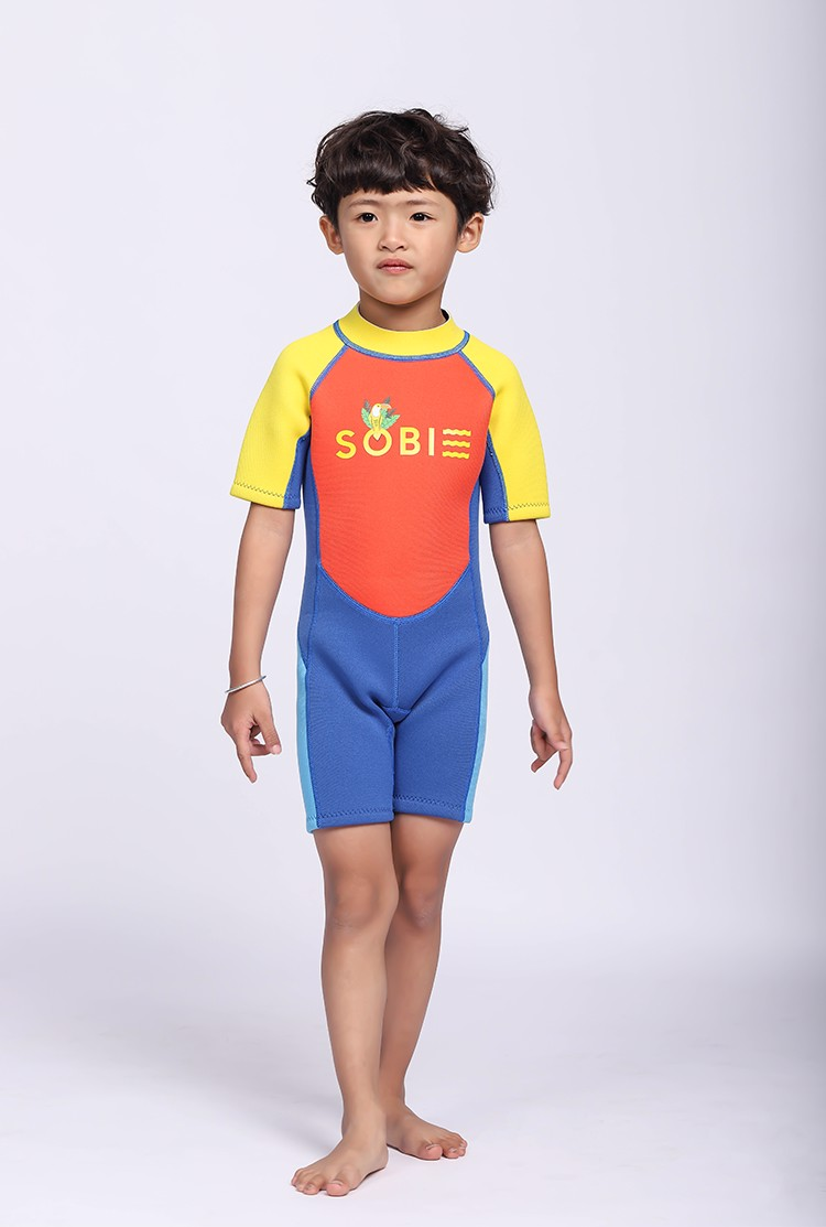 Wetsuit KID Short Tropi Orange
