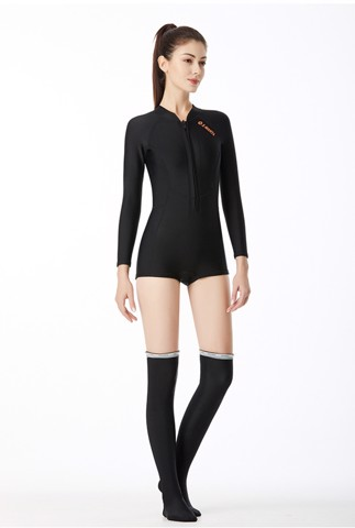 Wetsuit giữ nhiệt 1.5mm Black short