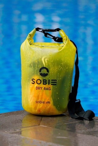 Sobie accessory drybag transparent yellow 5L