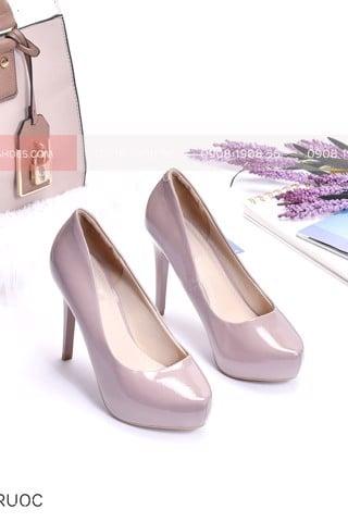 Giày cao gót merly màu nude