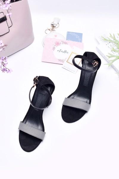 giày xăng đan merly 1134 caro đen