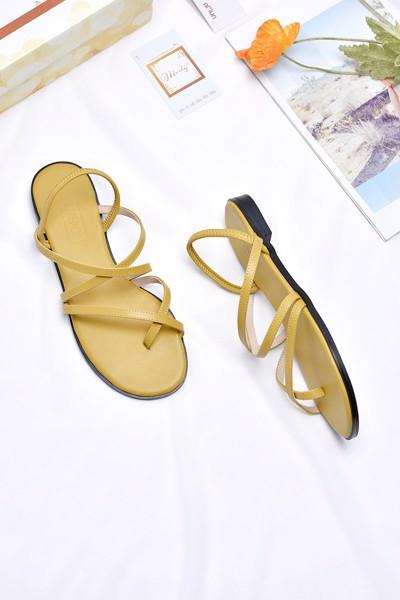 Giày xăng đan bệt merly 1224 vàng