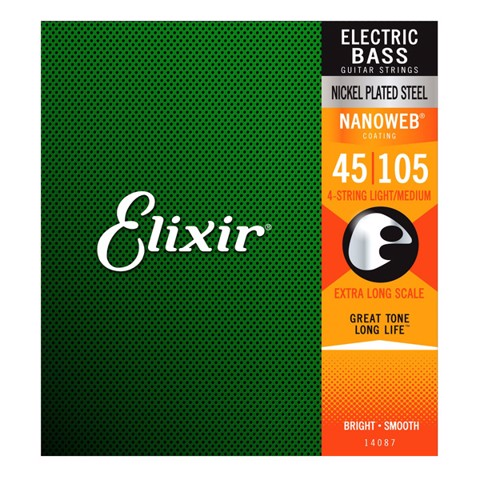 Elixir 14087 Bass Guitar Strings