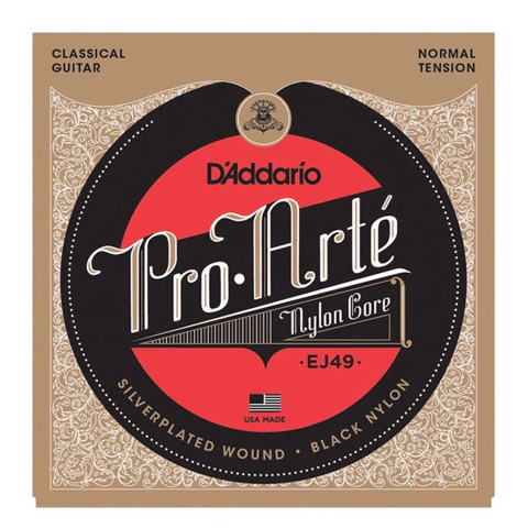 D'ADDARIO EJ49 CLASSIC GUITAR STRINGS