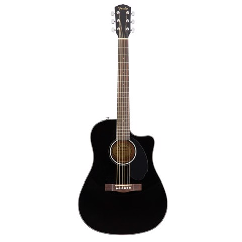 FENDER CD-60 SCE BLACK 0970113006