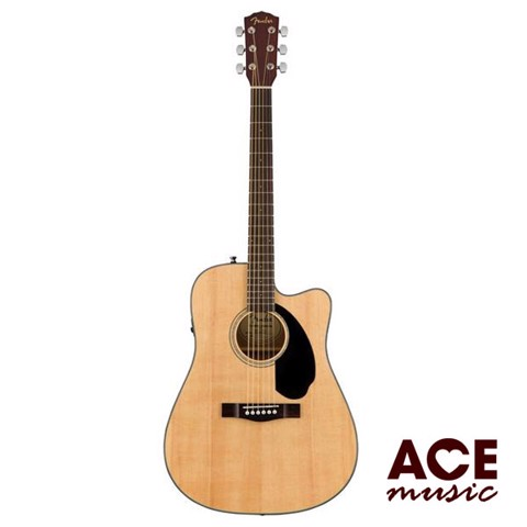 FENDER CD-60SCE ACOUSTIC GUITAR Model 0961704021