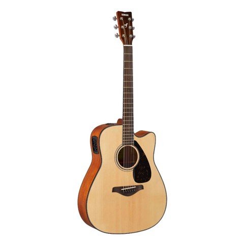 www.123nhanh.com: Đàn Acoustic Guitar Yamaha FGX800C giảm giá sốc $$$$$