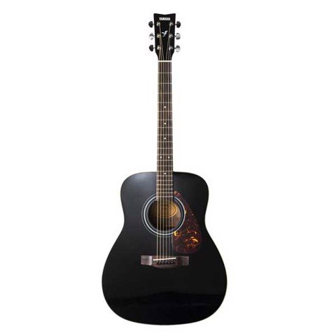 YAMAHA F370 BLACK ACOUSTIC GUITAR