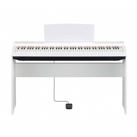 YAMAHA P-125WH + L-125WH DIGITAL PIANO