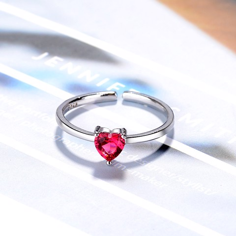Ruby Heart - Nhẫn S925