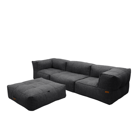 Casila Sofa with Ottoman - Tarujo