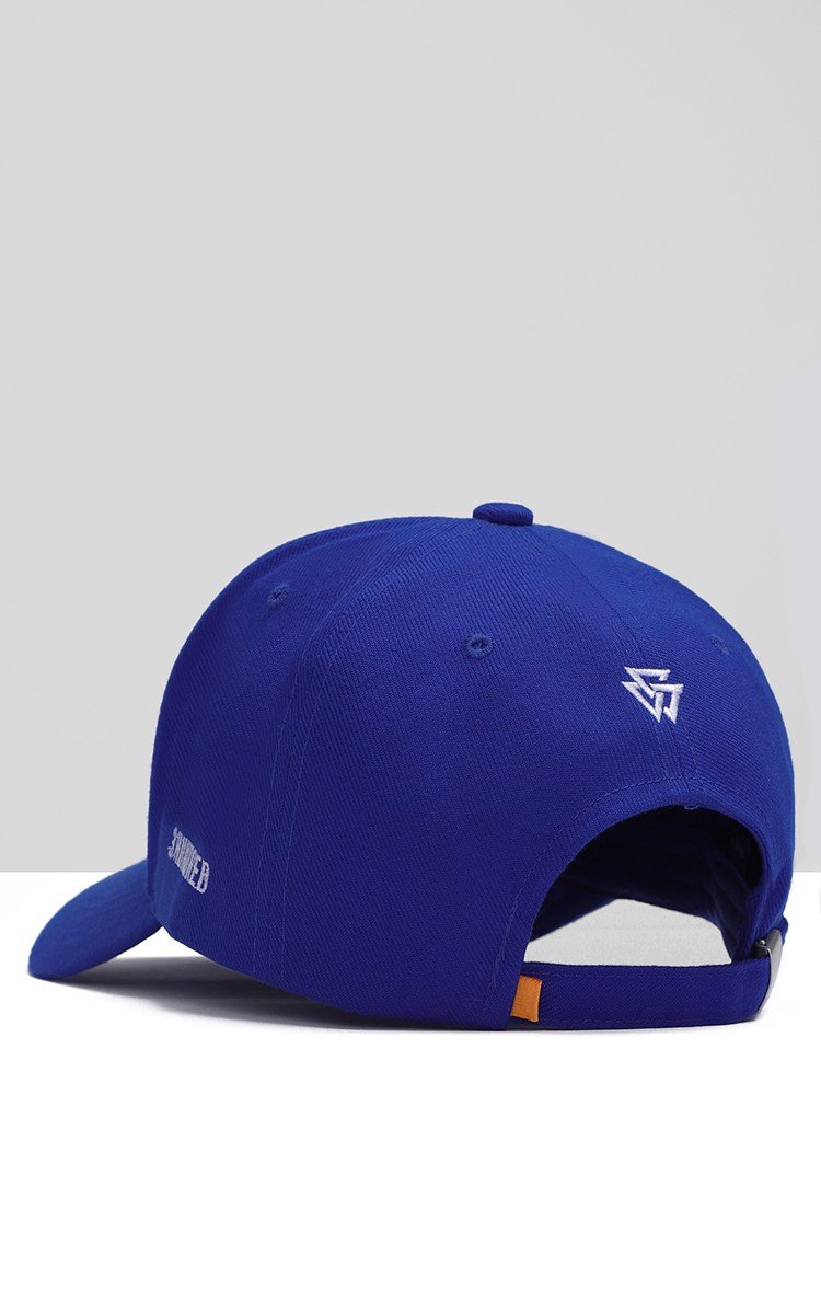No More Fake Friends Cap In Blue