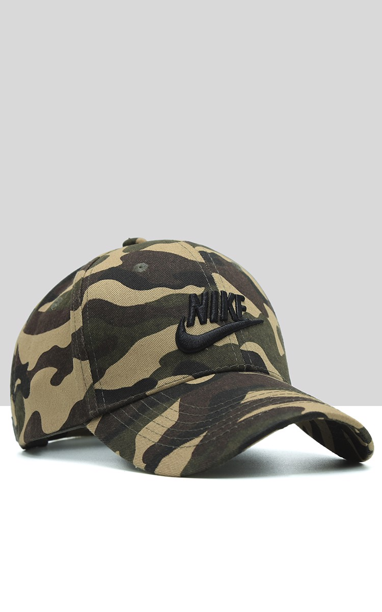 Nike Cap In Green Camo