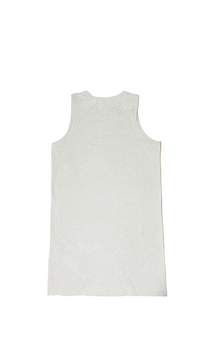 Longline Tanktop In Grey