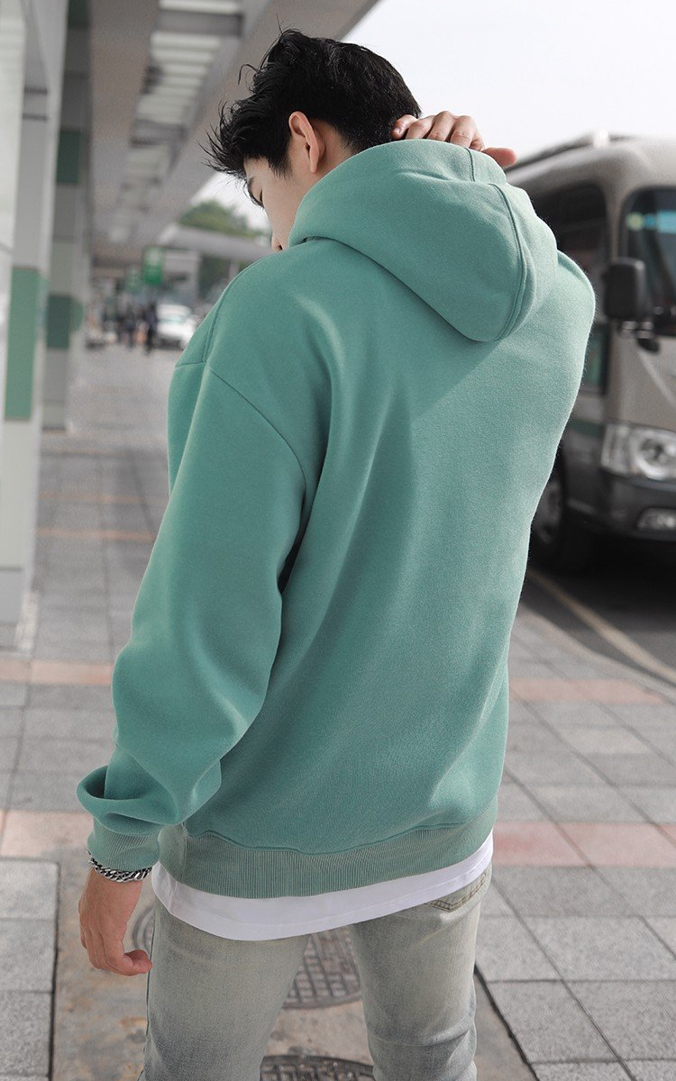 Champion Embroidered Logo Hoodie In Green