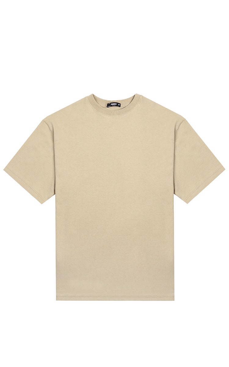 3Hundred Basic Tee In Tan