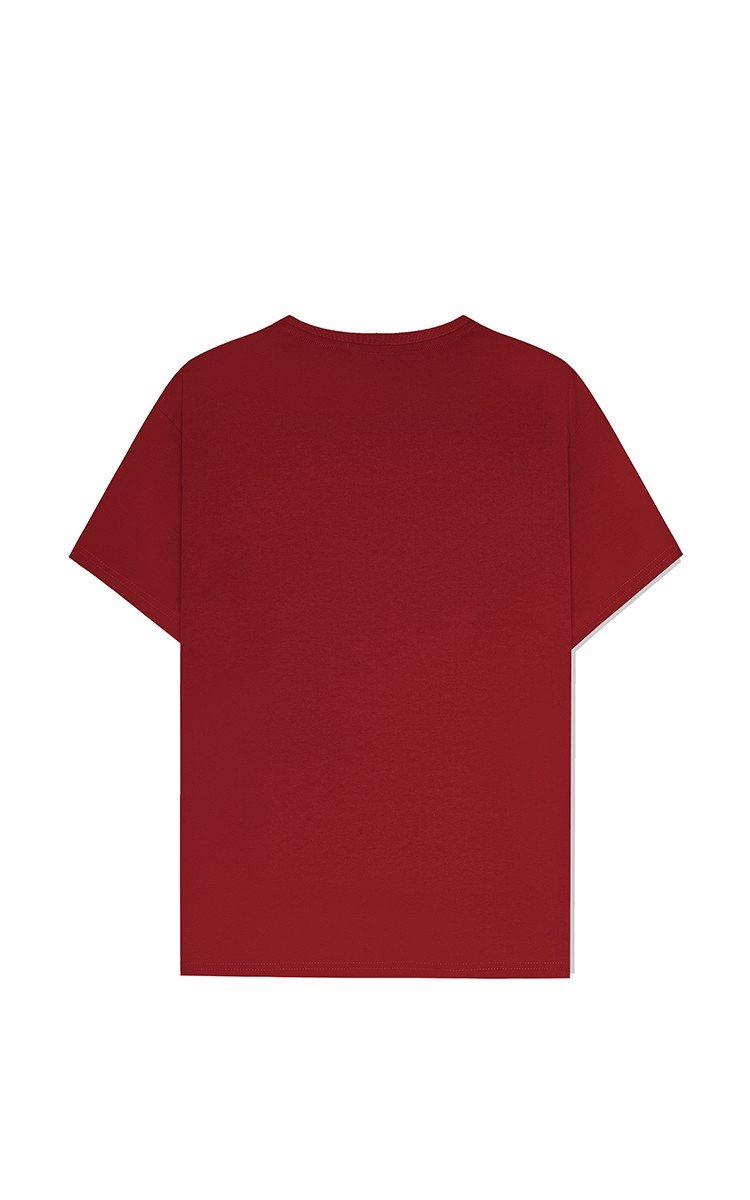 Basic T-Shirt In Red
