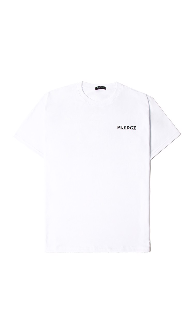 Pledge T-Shirt In White