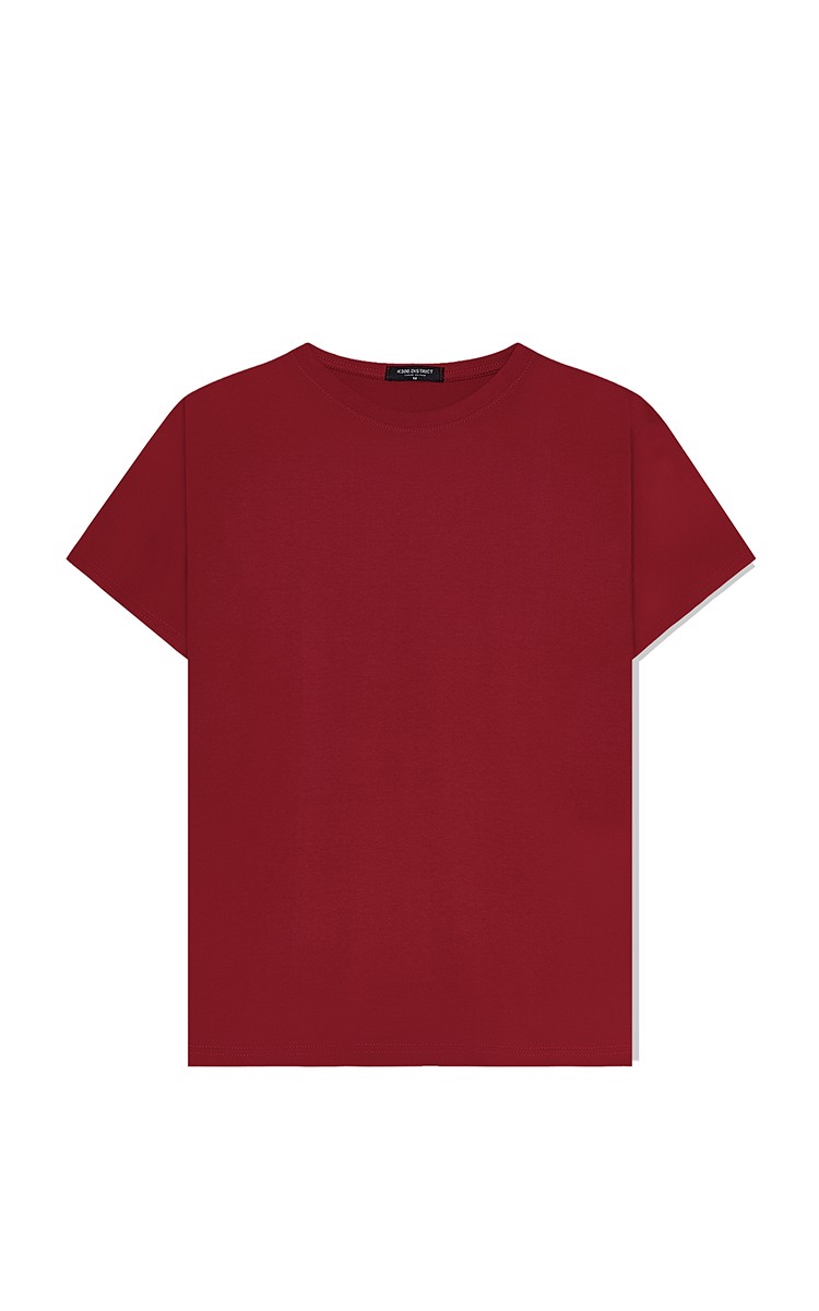 Basic Tee In Red