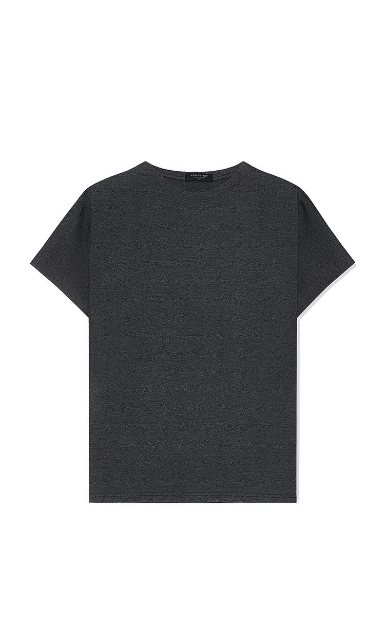 Basic Tee In Grey
