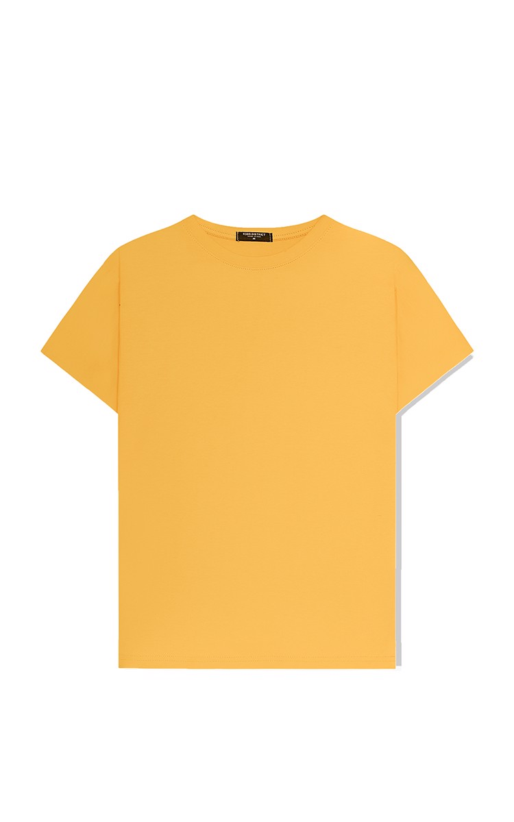 Basic Tee In Yellow