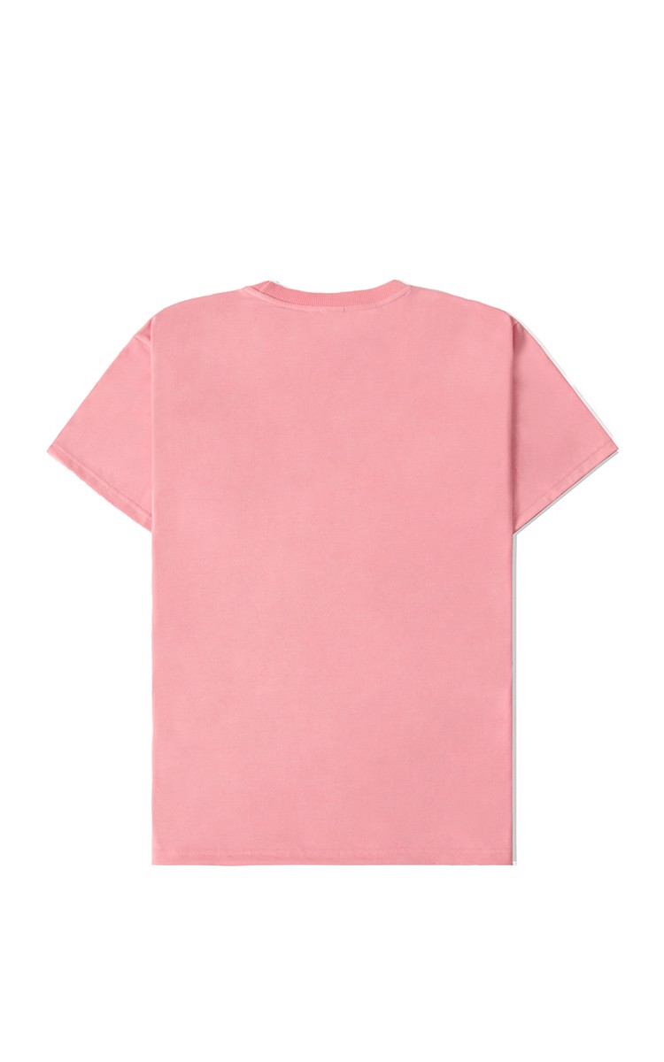 Champion Embroidered Logo T-Shirt In Salmon
