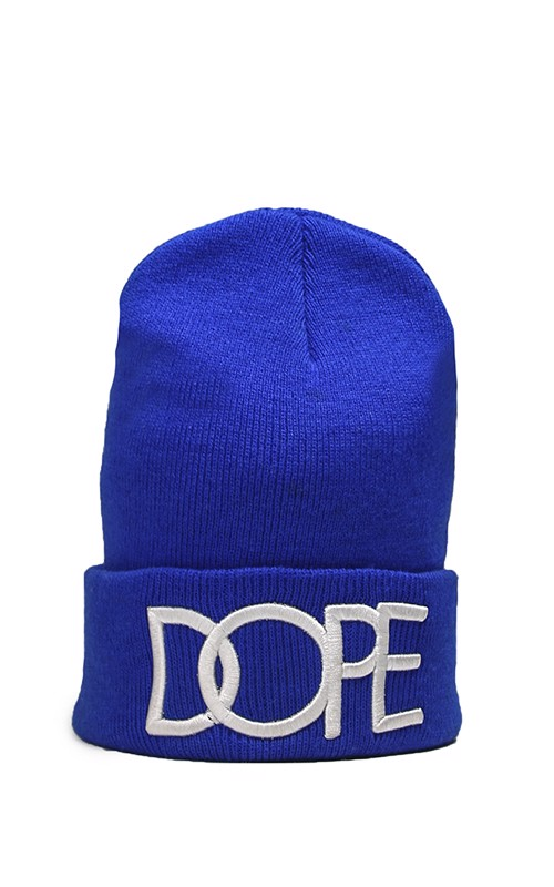 Dope Beanies In Blue