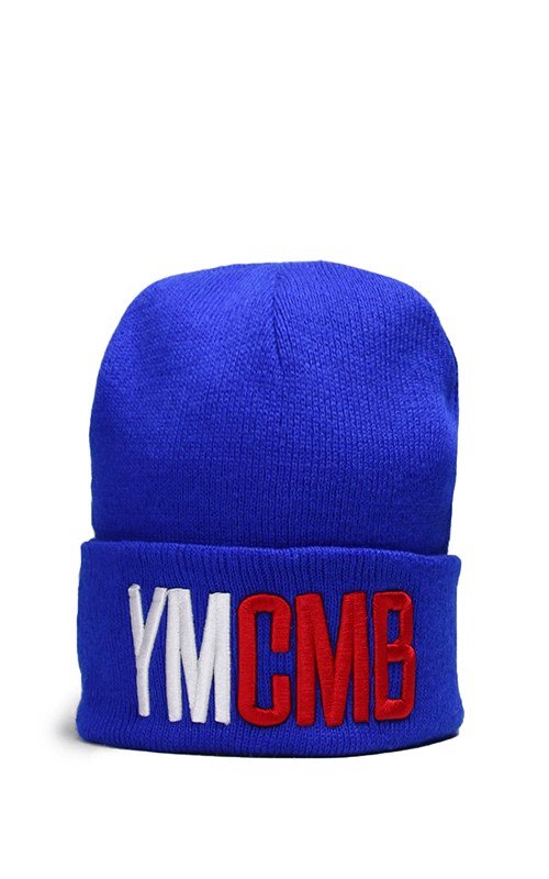 YMCMB Beanies In Blue