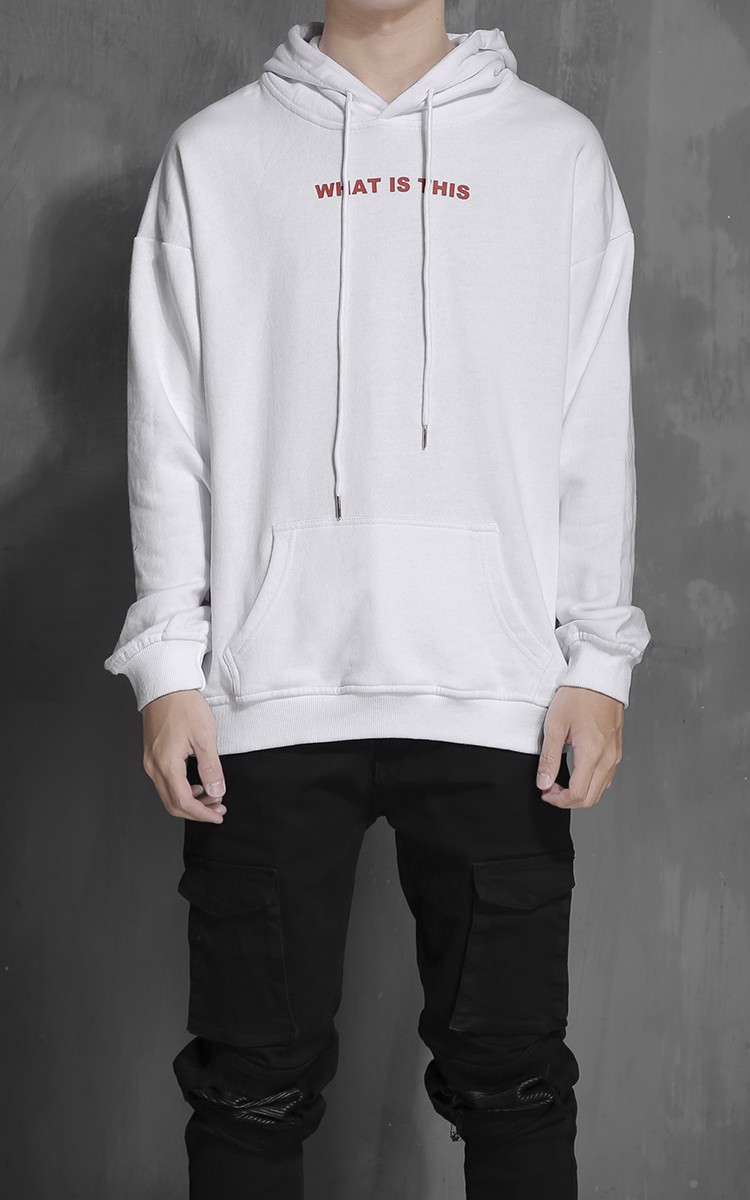 K300 ''What Is This'' Hoodie In White