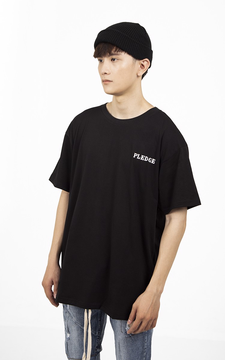 Pledge T-Shirt In Black