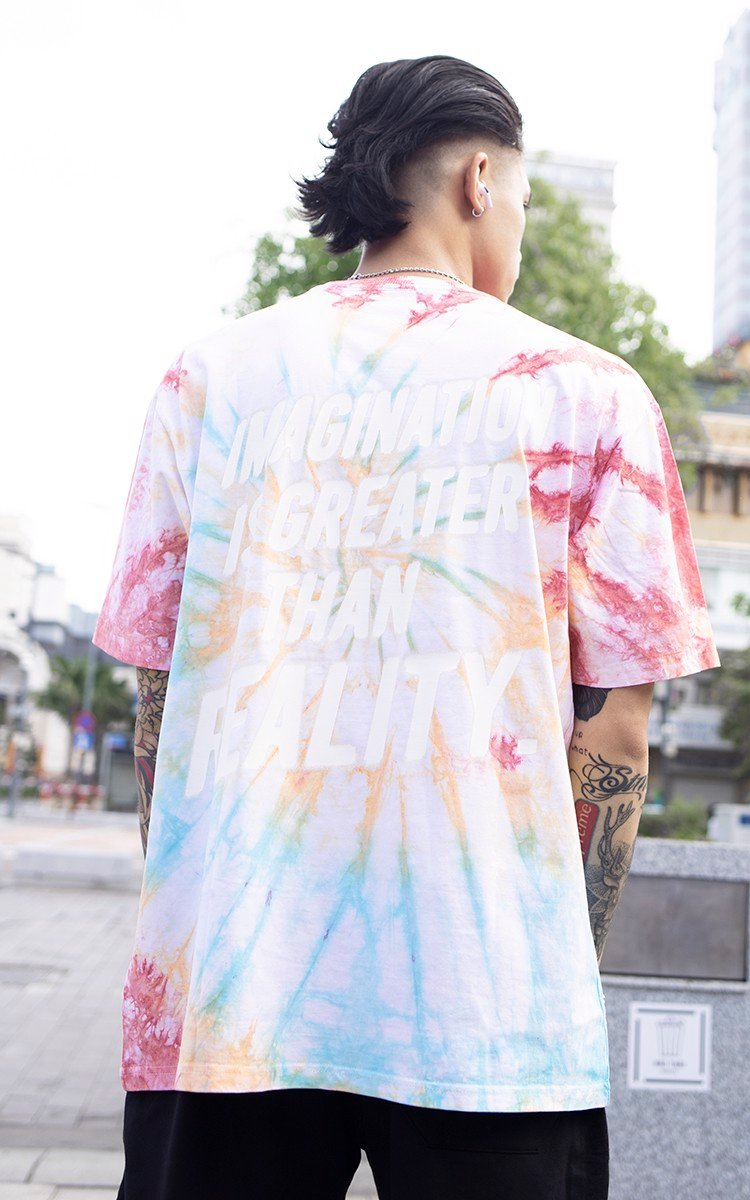 Imagination Tie Dye Rainbow Tee