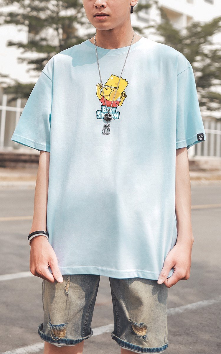 Bart Simpson Tee Blue