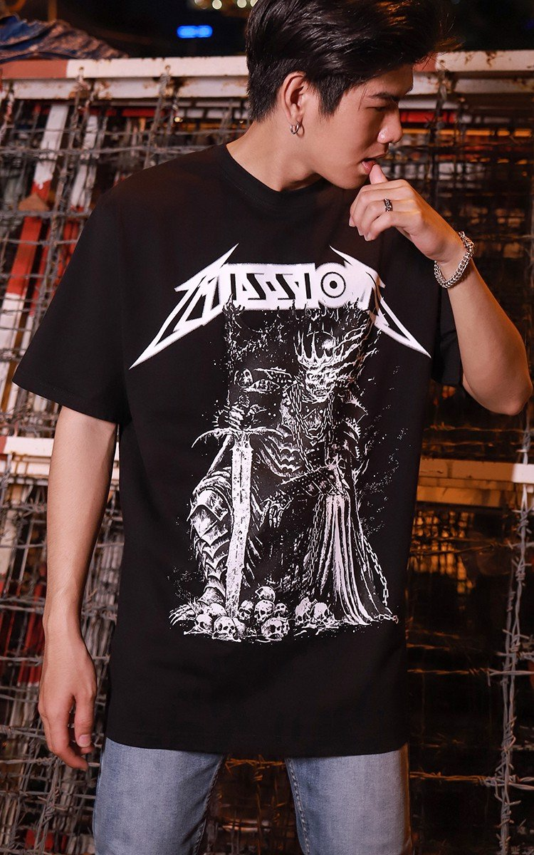 Mission T-Shirt In Black