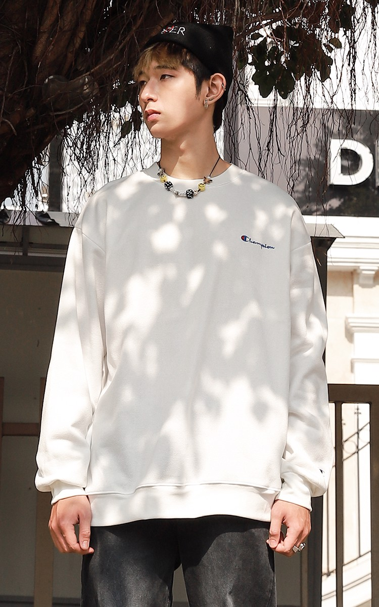 Champion Sweater In White
