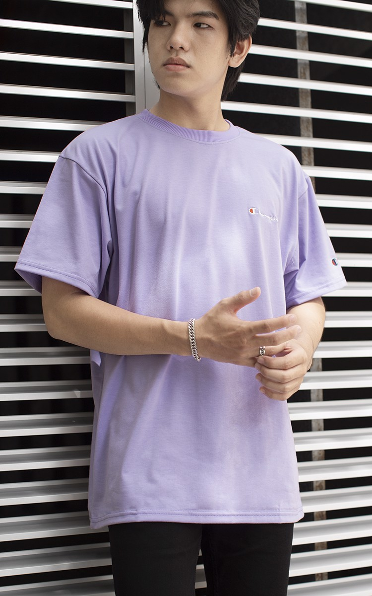Champion T-Shirt In Purple