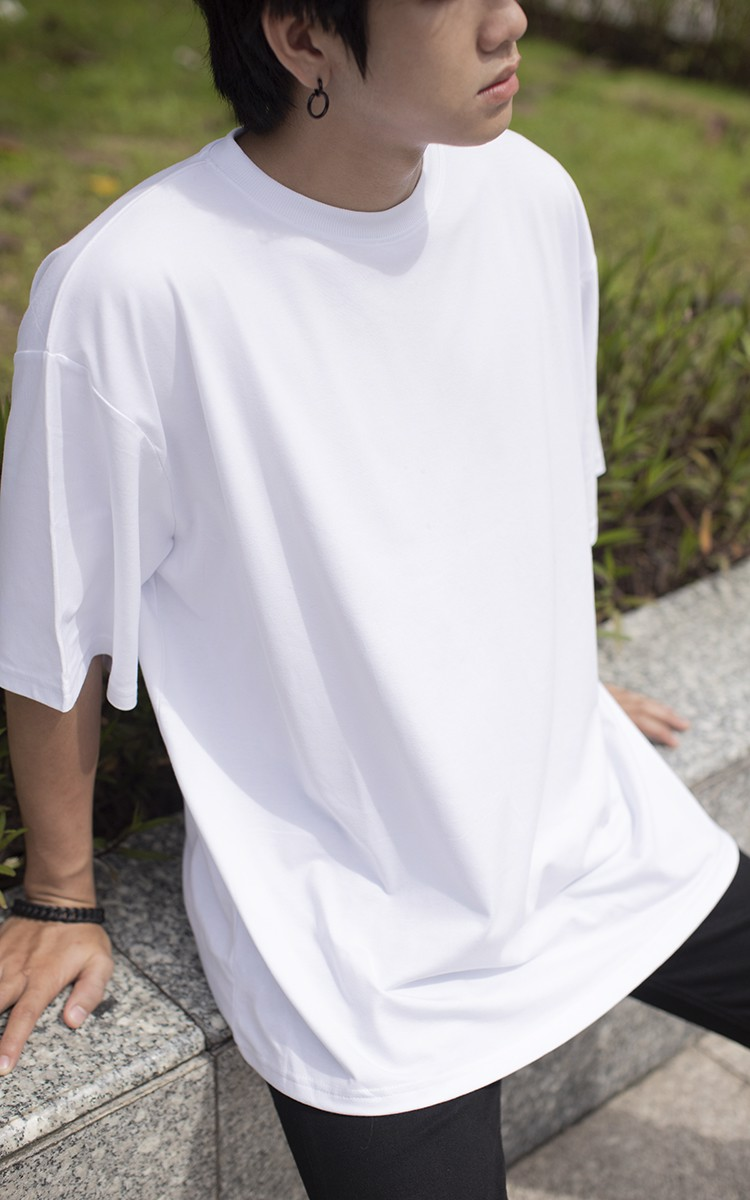 Oversized T-Shirt In White